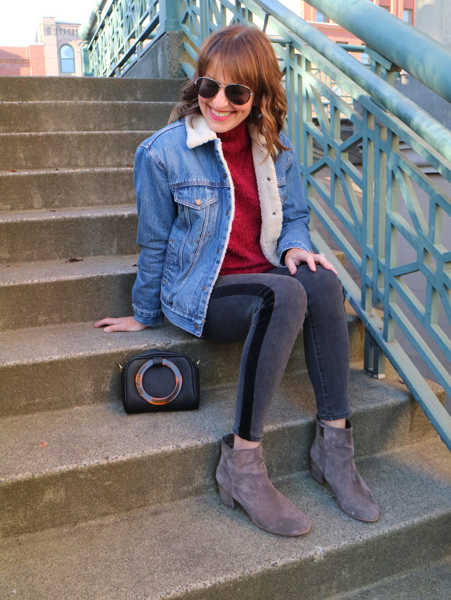 how to style ankle boots