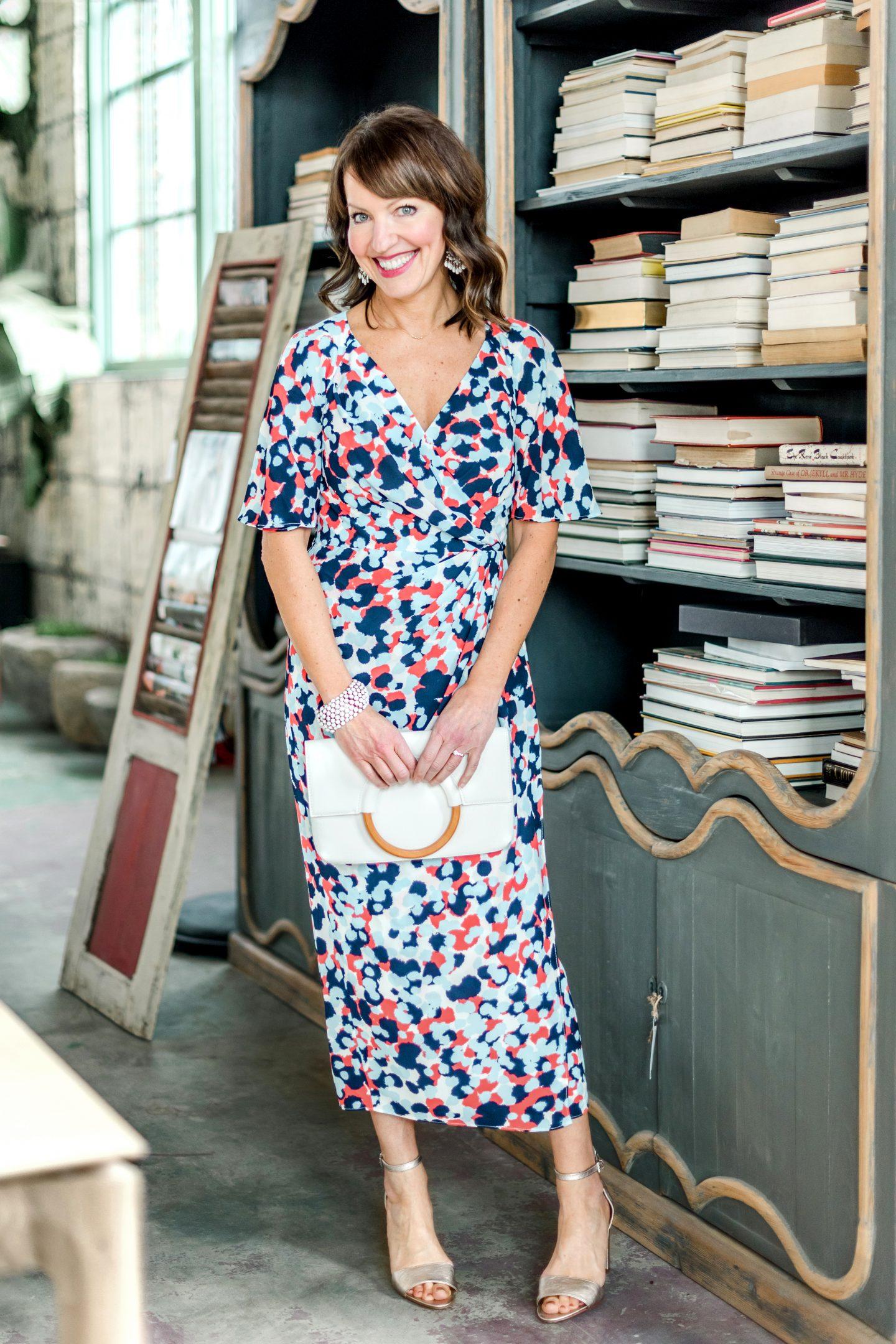 midi length spring dress