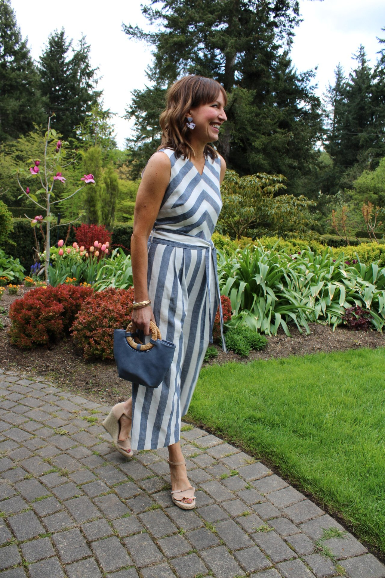 garden party outfit, jumpsuit outfit