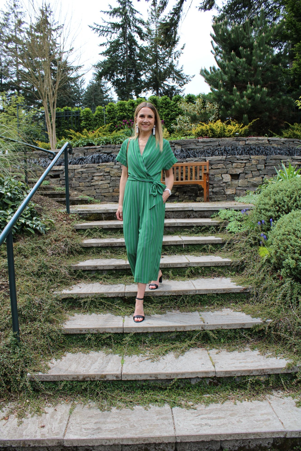 jumpsuit style, stylish jumpsuit, spring outfit