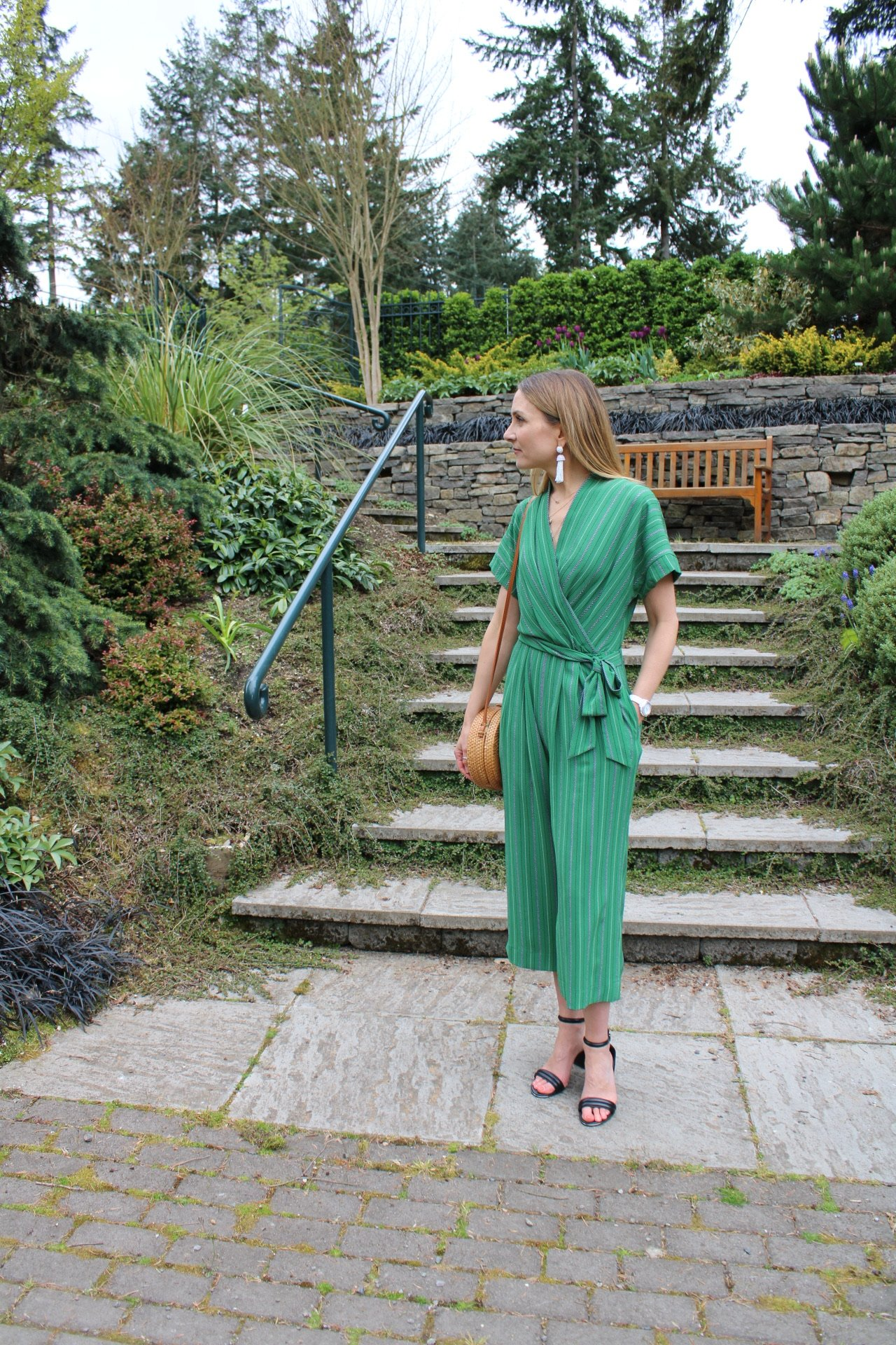 spring outfit, summer outfit, jumpsuit