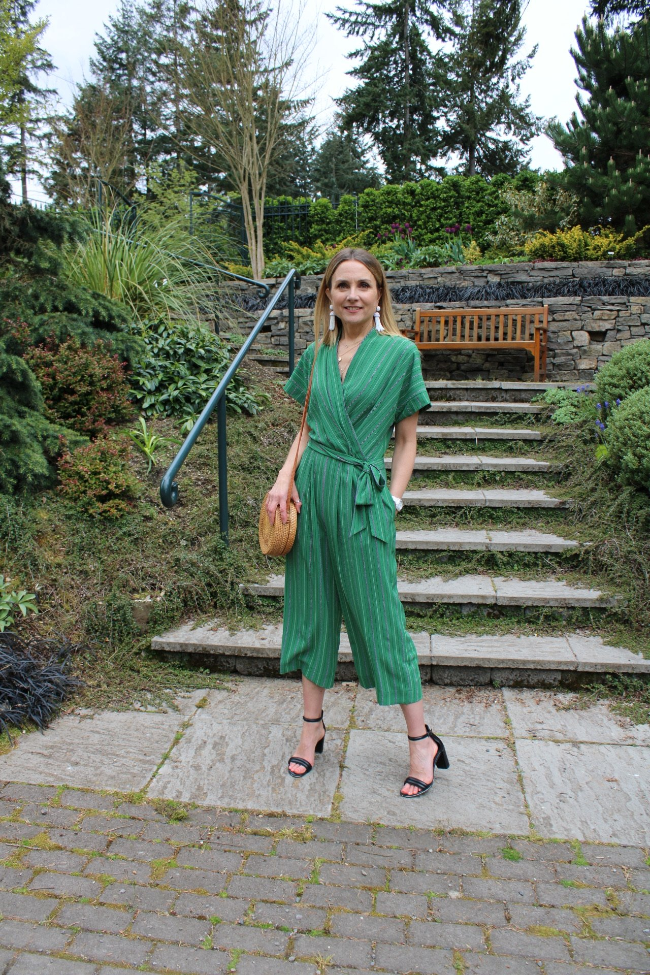 what to wear to a summer party, how to style a jumpsuit