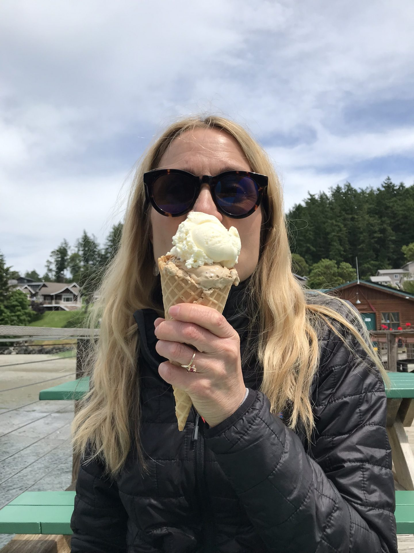 eating ice cream, functional medicine detox