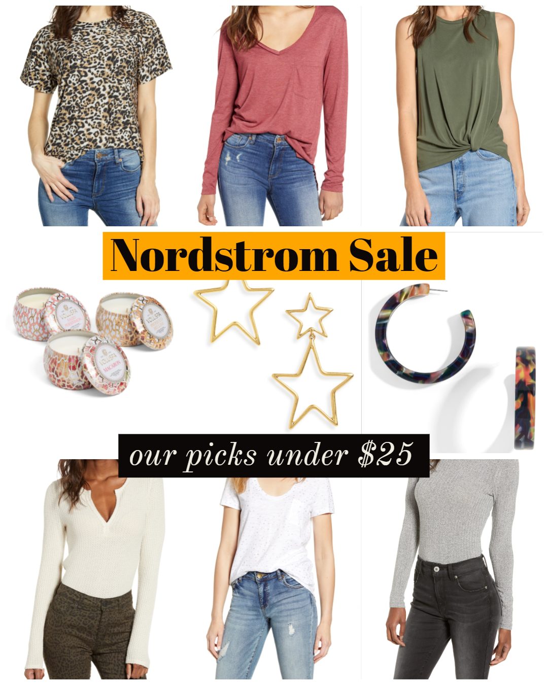 nordstrom sale under $25