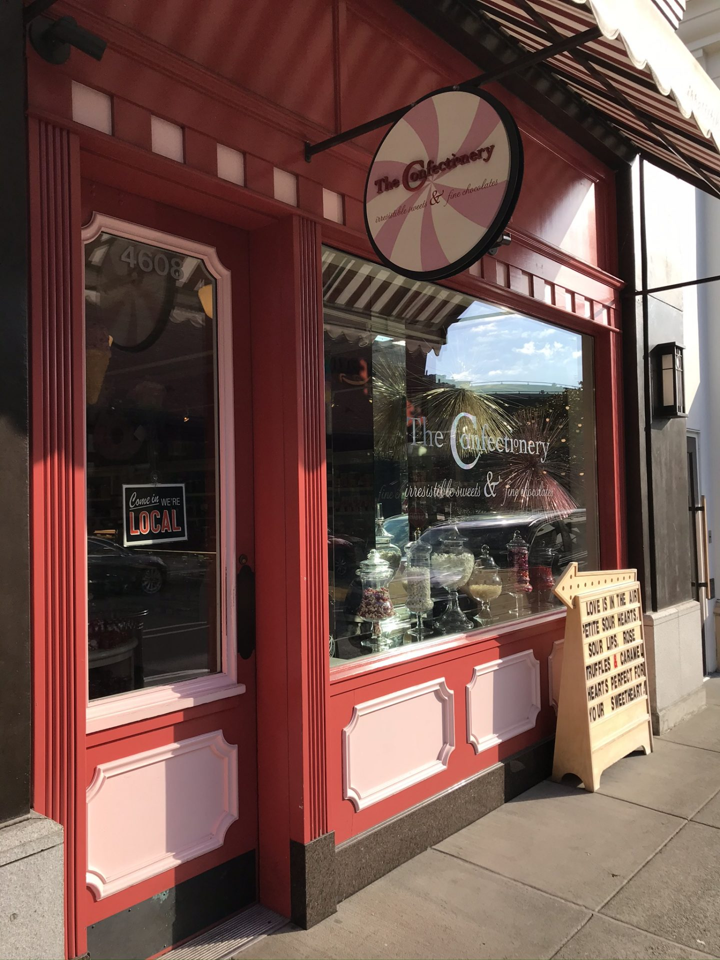 seattle gifts, the confectionery, university village, candy shop, valentines gifts