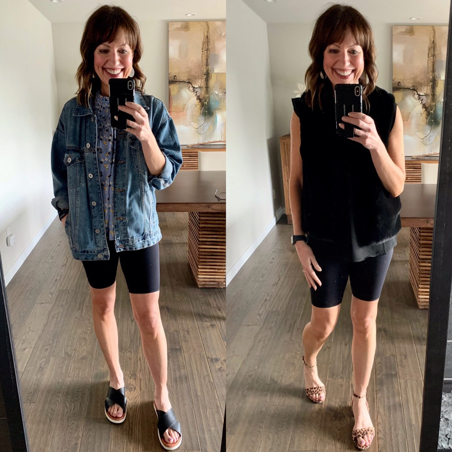 biker shorts outfit ideas