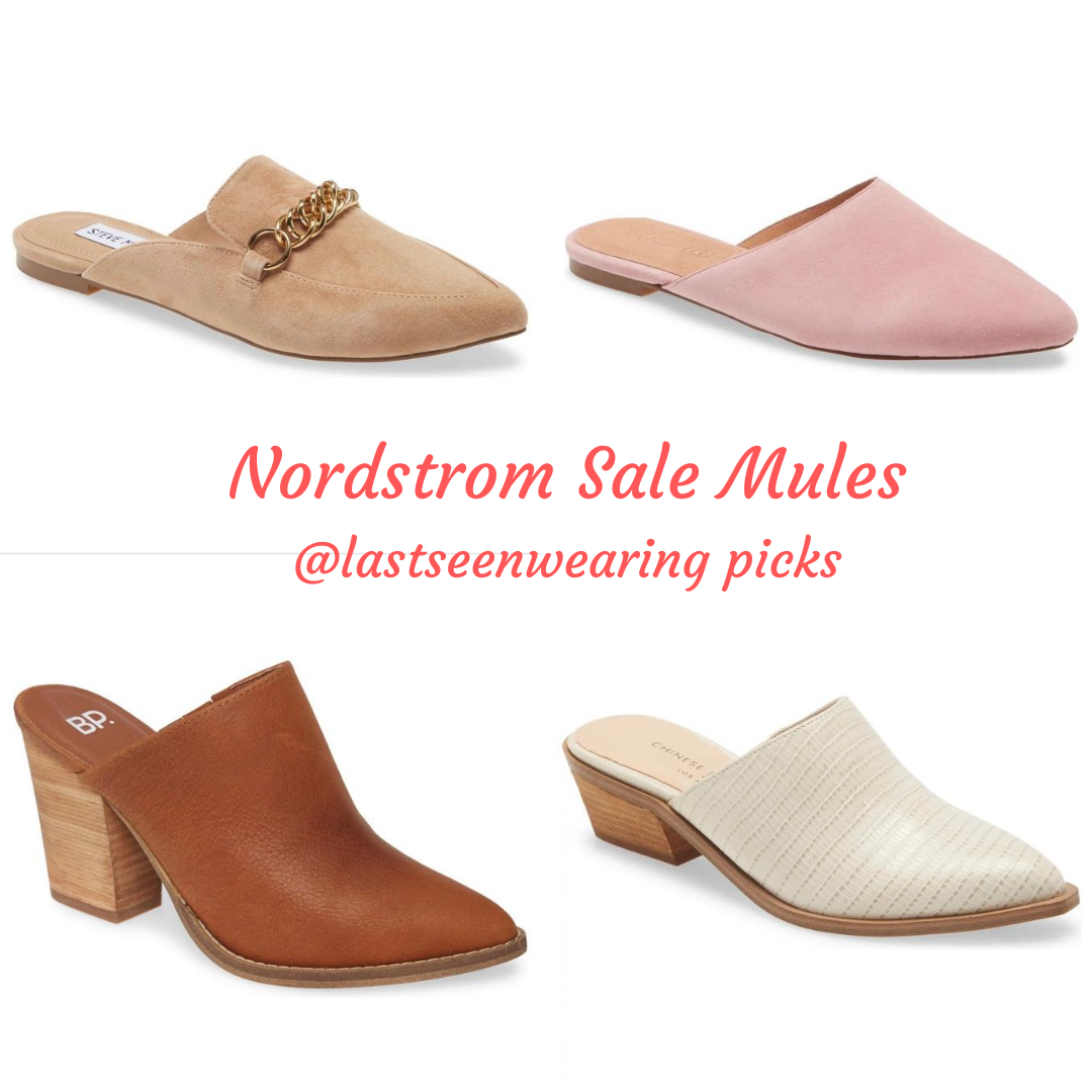 nordstrom sale mules