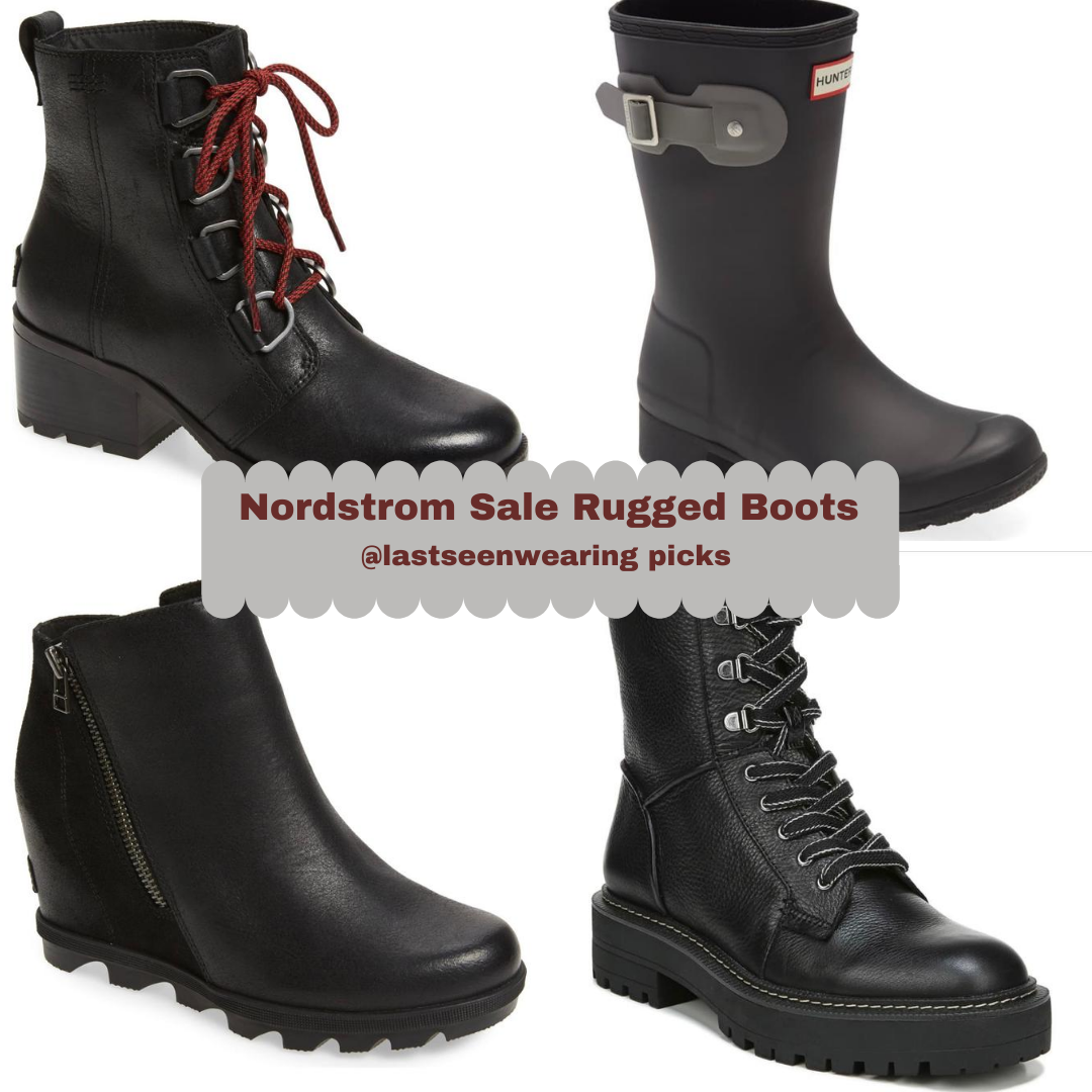 nordstrom sale rugged boots