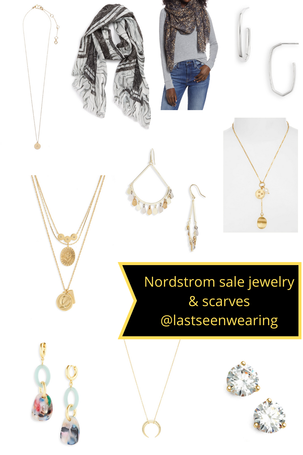 nordstrom sale jewelry and scarves