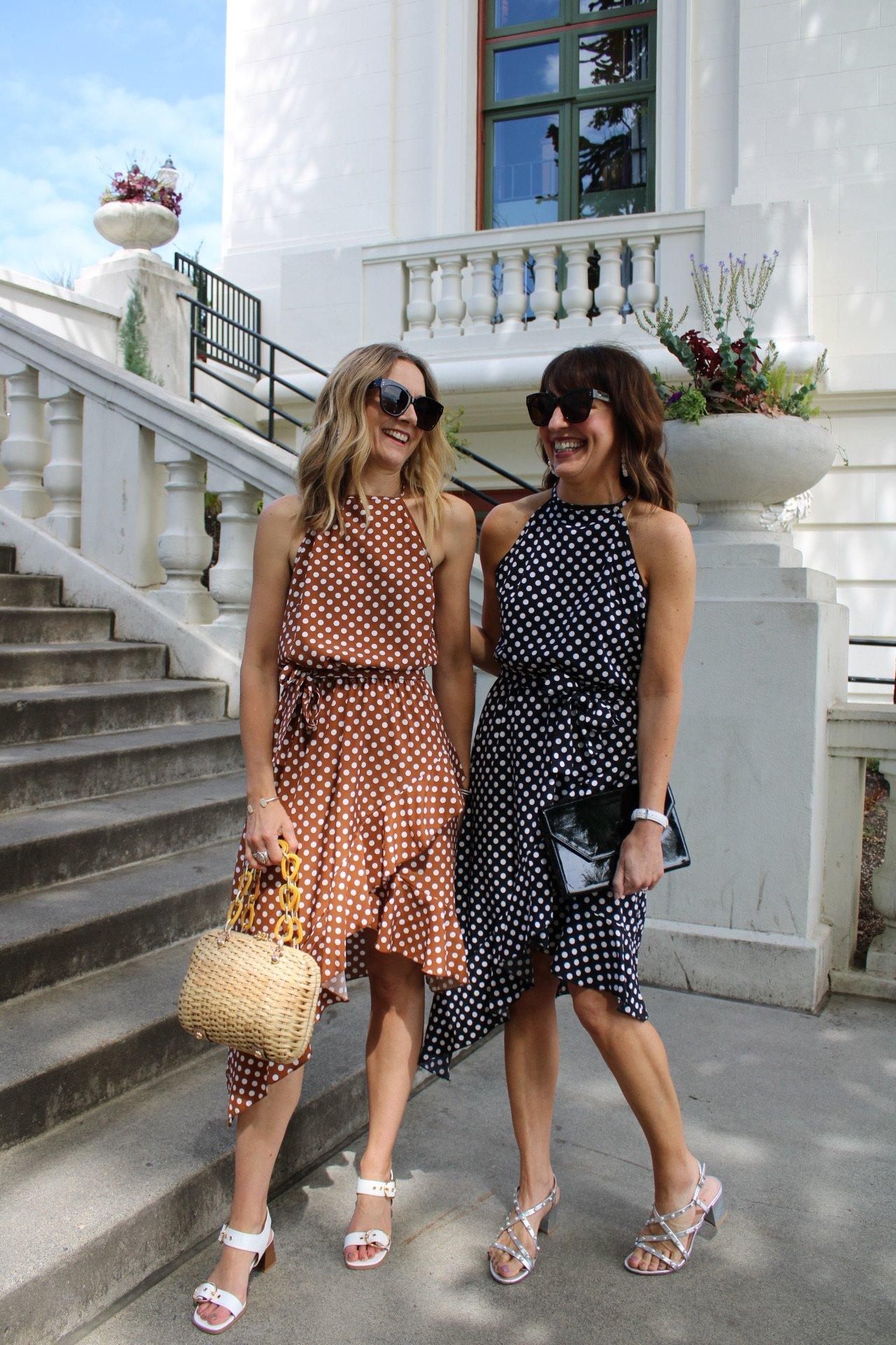 polka dot summer dresses